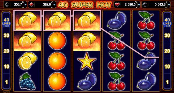 40 Super Hot - Jocuri Aparate Pacanele