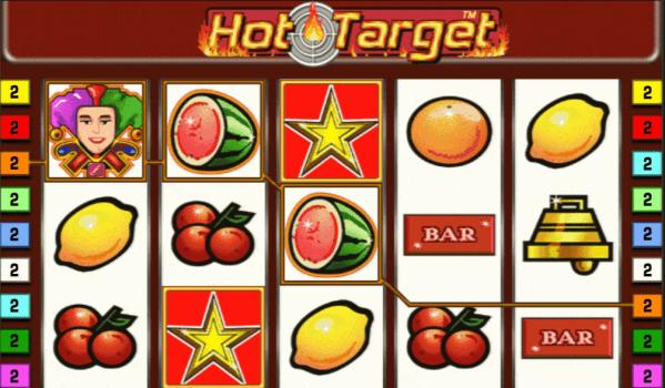Hot Target cu Joker si Stele - Jocuri Aparate Pacanele