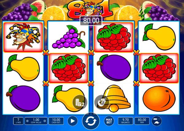 Magic Fruits 81 • Jocuri ca la Aparate - Păcănele Online Gratis