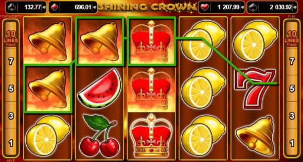 Shining Crown - jocuri aparate pacanele