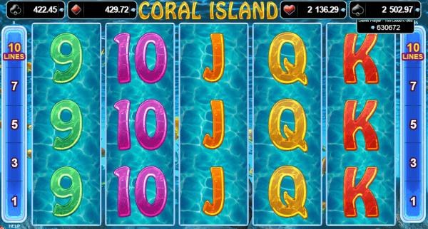 coral island jocuri aparate pacanele