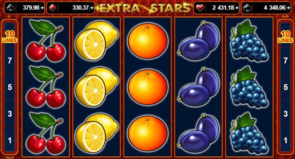 extra stars - jocuri ca la aparate - pacanele
