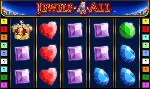 jewels 4 all - jocuri aparate pacanele