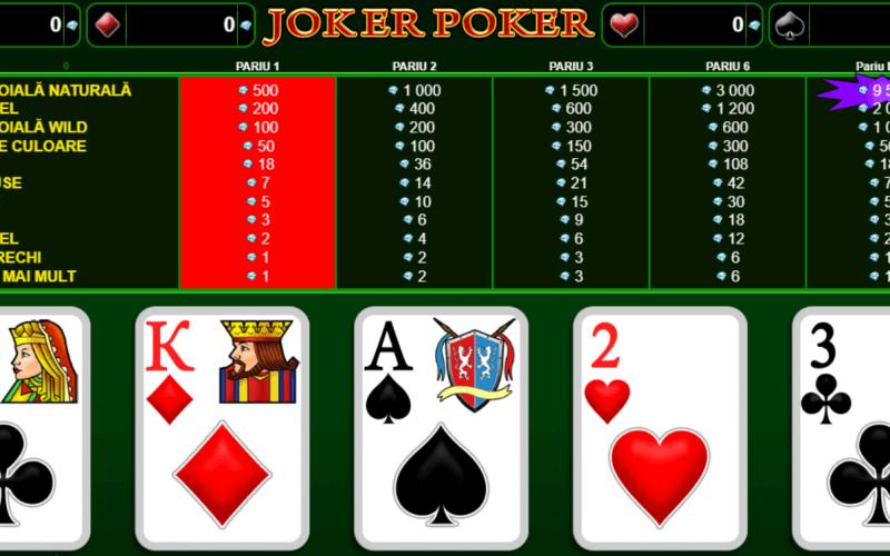 Poker Online Gratis ca la Aparate - Jocuri Păcănele